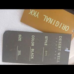 dessert wells Jackets & Coats - Men's Leather Dessert Wells Olympic Sports Coat